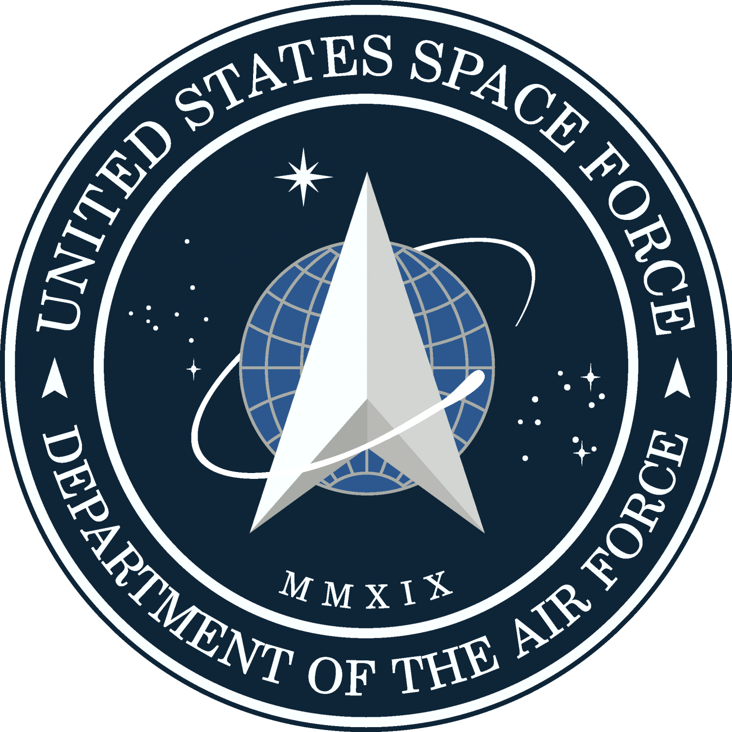 President Trump unveiled the Space Force logo on Jan. 24, 2020. Many have pointed out that it looks remarkably similar to the logo from the television series