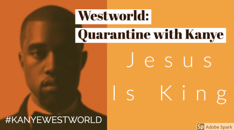 Westworld: Kanye draws strength from God, makes weakest album