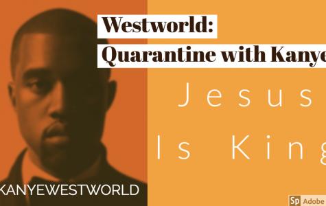 Westworld: Kanye draws strength from God, makes weakest album