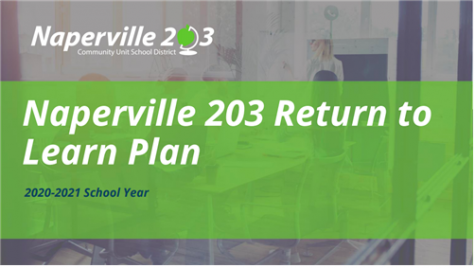 District 203 announced its back to school plan for the fall during a July 13 school board meeting conducted via Zoom. Families were given nine days to opt in to an all-online option or select (or default to) a hybrid learning model.