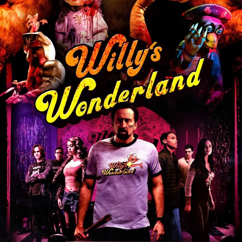 "Review: Take the Cage pill and see ""Willy's Wonderland"""