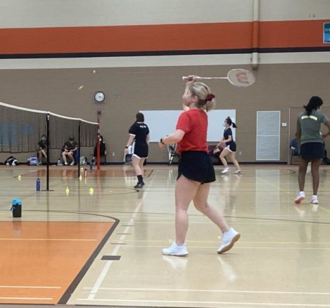 Girls badminton season wraps up